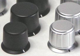 Machined Aluninum Knobs
