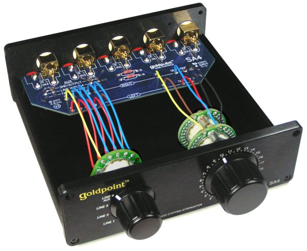 Goldpoint Sa4 Level Control    Passive Preamp